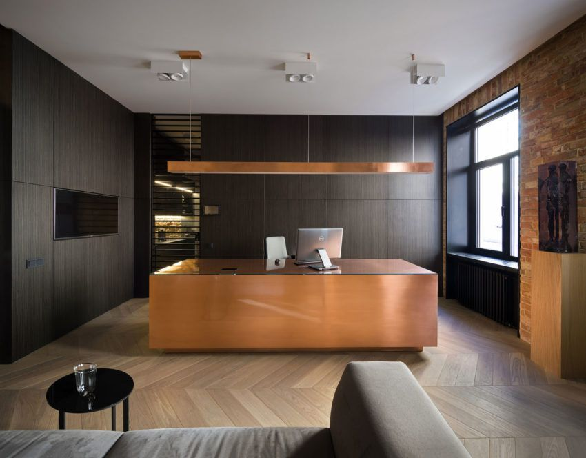 Sophisticated And Elegant Office In Vilnius Capital Of Lithuania