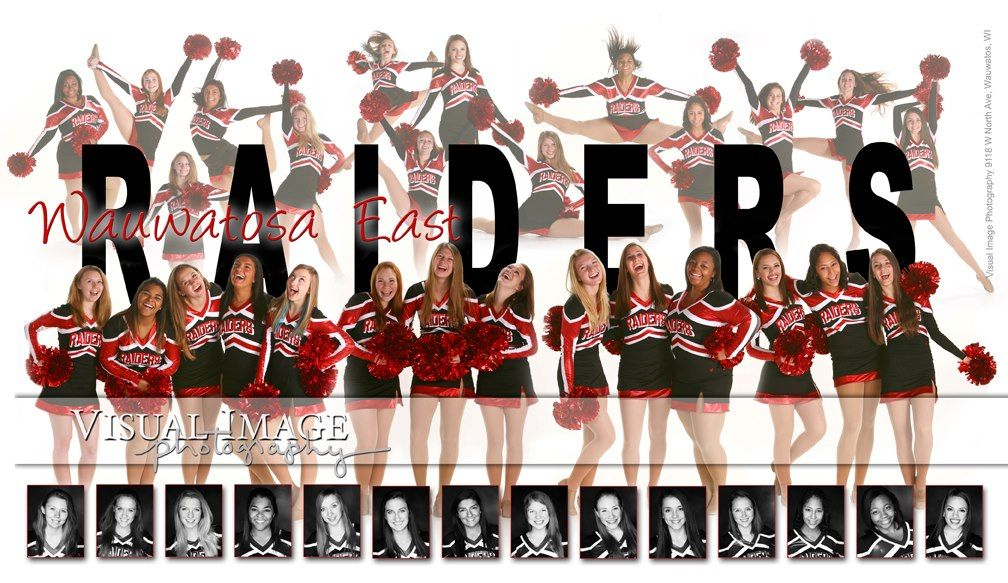 Wauwatosa East High School Dance Team Composite Photographed By Steve Lamaster At Our Studio In Wauwatosa Dance Team Photos Dance Teams Cheer Team Pictures