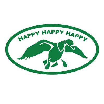 Happy Happy Happy - Duck Dynasty Decal  4 x 7 Inches  FREE DECAL WITH EVERY ORDER!!! (Most of the time I will include a smaller version of the decal you ordered but I may throw in something random)  #sticker #decal #duckdynasty