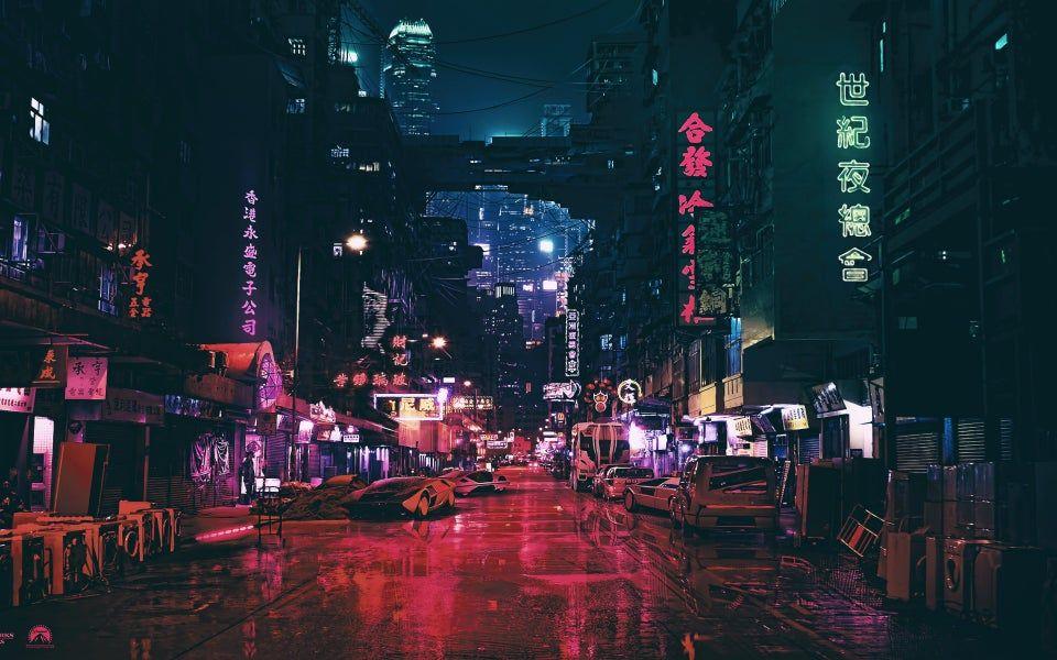 In Tha City 3840 X 2400 Wallpaper City Wallpaper Cyberpunk City Background Hd Wallpaper