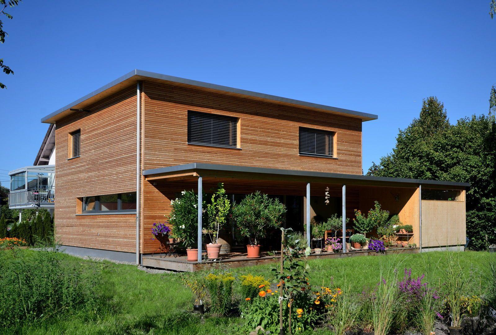 Einfamilienhaus lustenau vorarlberger holzbaukunst - Einfamilienhaus moderne architektur ...