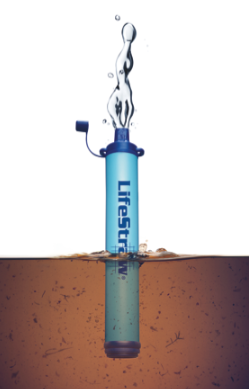 LifeStraw® is an award-winning point-of-use portable water filter that transforms microbiologically contaminated water into safe, clean drinking water. It is ideal for a variety of users outside of the home, from hikers and campers to people displaced by natural disasters. www.buylifestraw.com