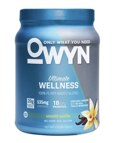 """OWYN Vanilla vegan protein powder  For that extra plant-based power that won't """"whey"""" you down, we've rounded up some of our favorite vegan protein powder brands that will help you power through workouts, replace those amino acids, and start the day with a little extra protein boost so you're not starving by 11 a.m. Mix these into smoothies, yogurt, or baked goods, and you'll forget you ever went cold turkey on turkey."""