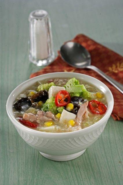 Sup Brokoli Tahu Sutra Sajian Sedap Sup Brokoli Resep Masakan
