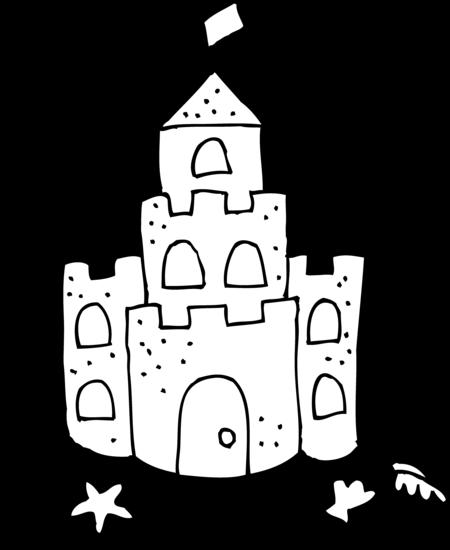 Sandcastle Drawing Related Keywords Suggestions Sandcastle Castle Coloring Page Sand Castle Craft Castle Crafts
