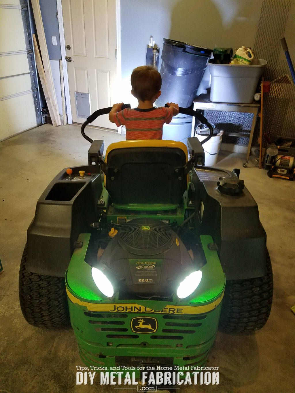 Step By Guide To Install Led Lights On Zero Turn Mower The Wiring