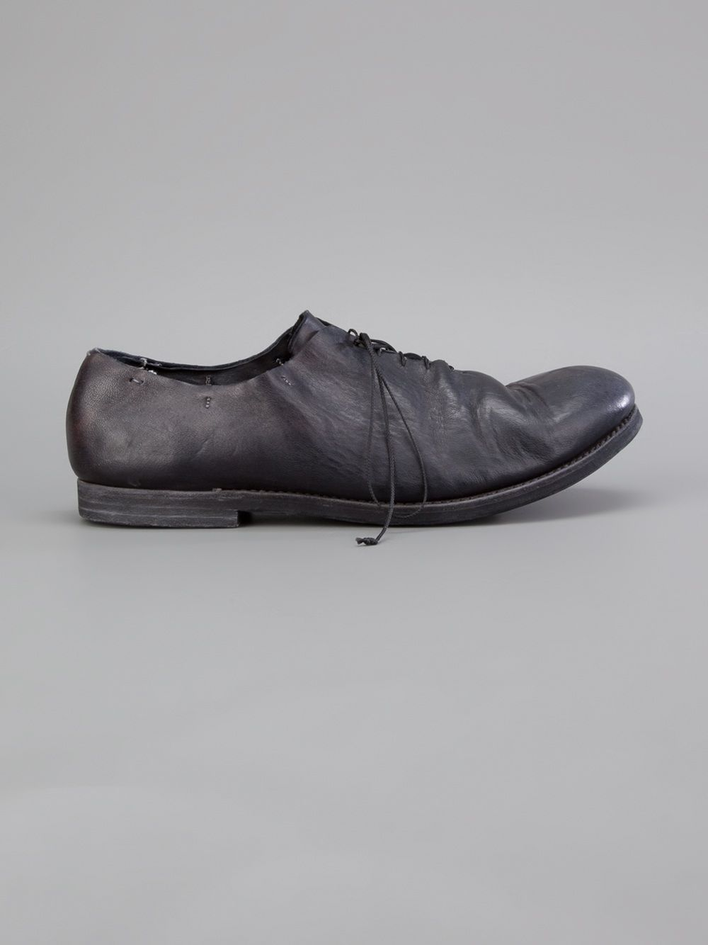 distressed derby shoes - Grey A Diciannoveventitre / Augusta 6Sv9A0