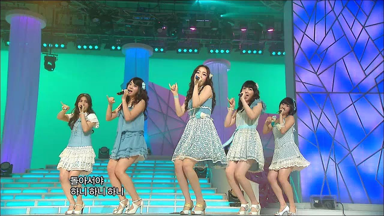 Tvpp Kara Honey 카라 허니 Show Music Core Live Youtube Kara Music Shows