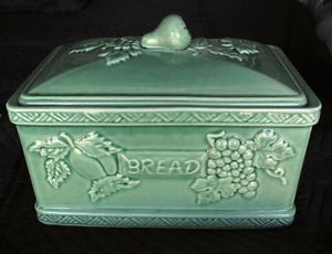 Porcelain Bread Box Willfred Collectible Ceramic Bread Box Made