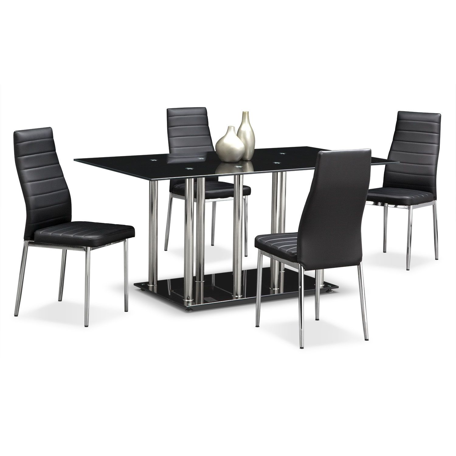 artfully industrial. the modern stratus dining collection is