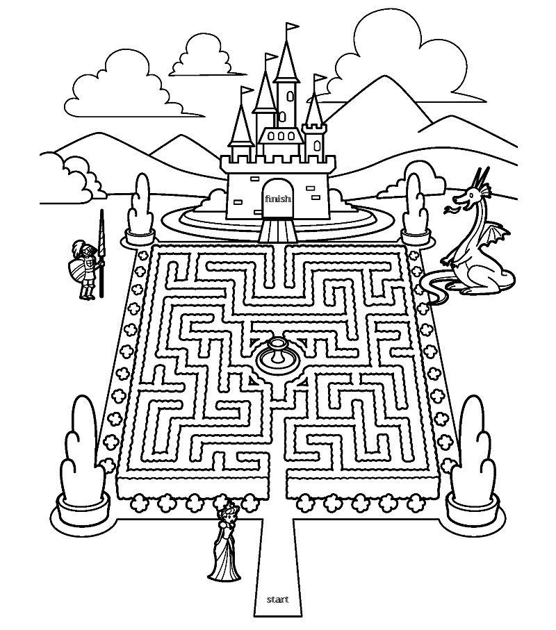 labirint pentru o viziune bună