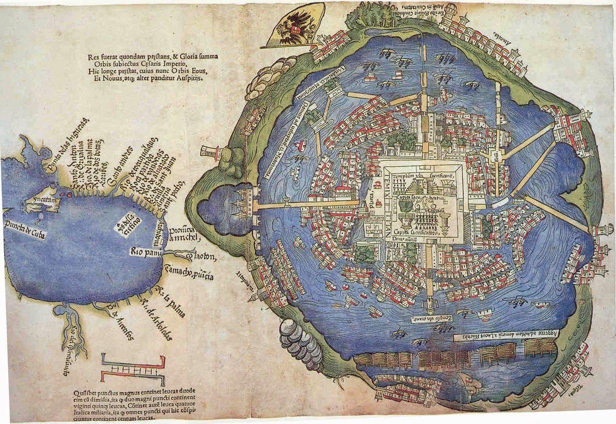 La evolucin del mapa de la Ciudad