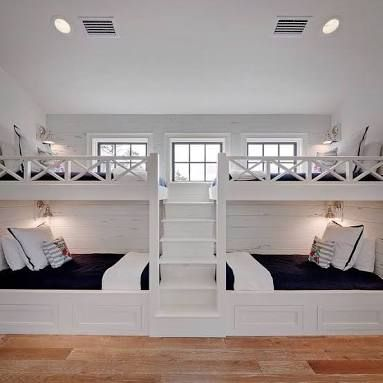 Image Result For Bunk Beds Two Sets In One Room Bunk Beds Built In Bedroom Design Bunk Rooms