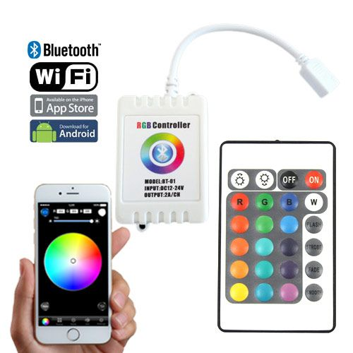Dc1224v 2axch bluetooth wifi rf wireless control via ios or dc1224v 2axch bluetooth wifi rf wireless control via ios or android smart phone led dimmerled light stripscolor mozeypictures Image collections