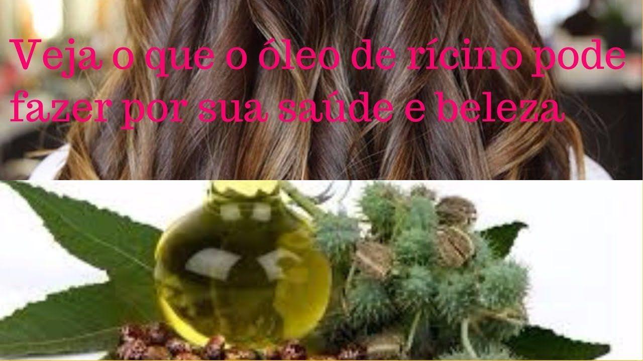 Veja o que o óleo de rícino pode fazer por sua saúde e beleza.