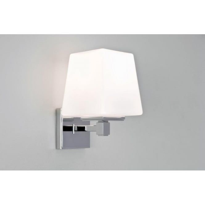 Astro lighting noventa single light bathroom wall fitting in astro lighting noventa single light bathroom wall fitting in polished chrome finish lighting type from aloadofball Image collections
