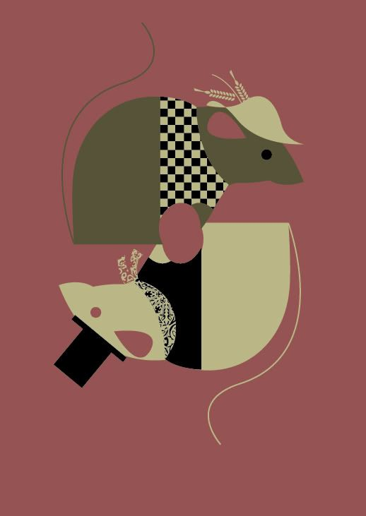 town mouse & city mouse by Charles Harper   Mad for Mice   Pinterest ...
