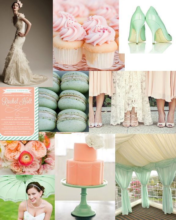 Niagara Wedding Planner- Theme And Decor: Mint And Pale