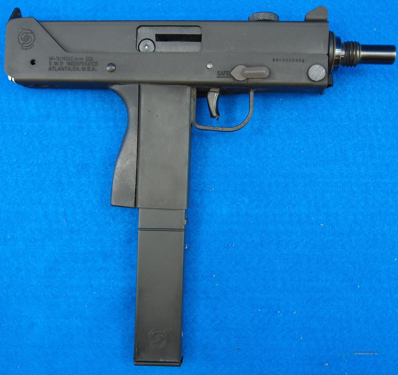 Cobray M11 9×19mm Submachine Gun, An Extremely Simplified