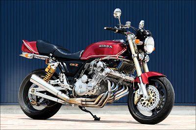 Planet Japan Blog Honda Cbx 1000 By Rg Tuning Bikers K Pinterest