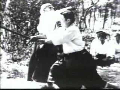 """Aikido - Morihei Ueshiba - Way of Harmony - 01"" Video of O-Sensei, founder of Aikido, near the end of his life (1970s?)."