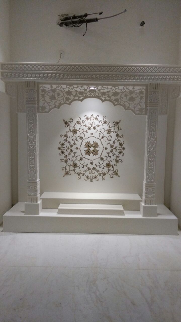 Acrylic solid surface mandir design pooja room temple rooms also best house interiors images in rh pinterest