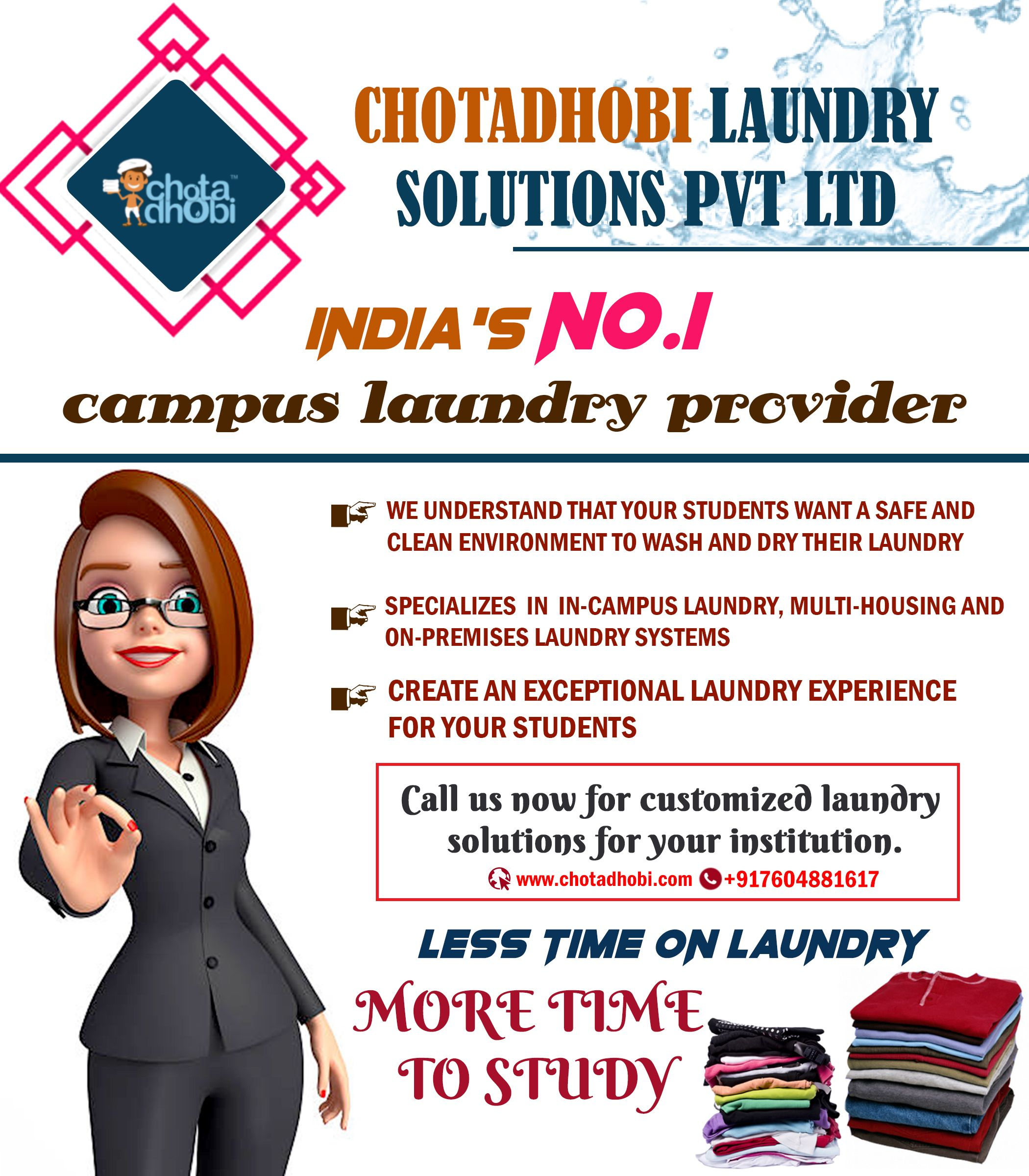 Pin On Campus Laundry Service Provider