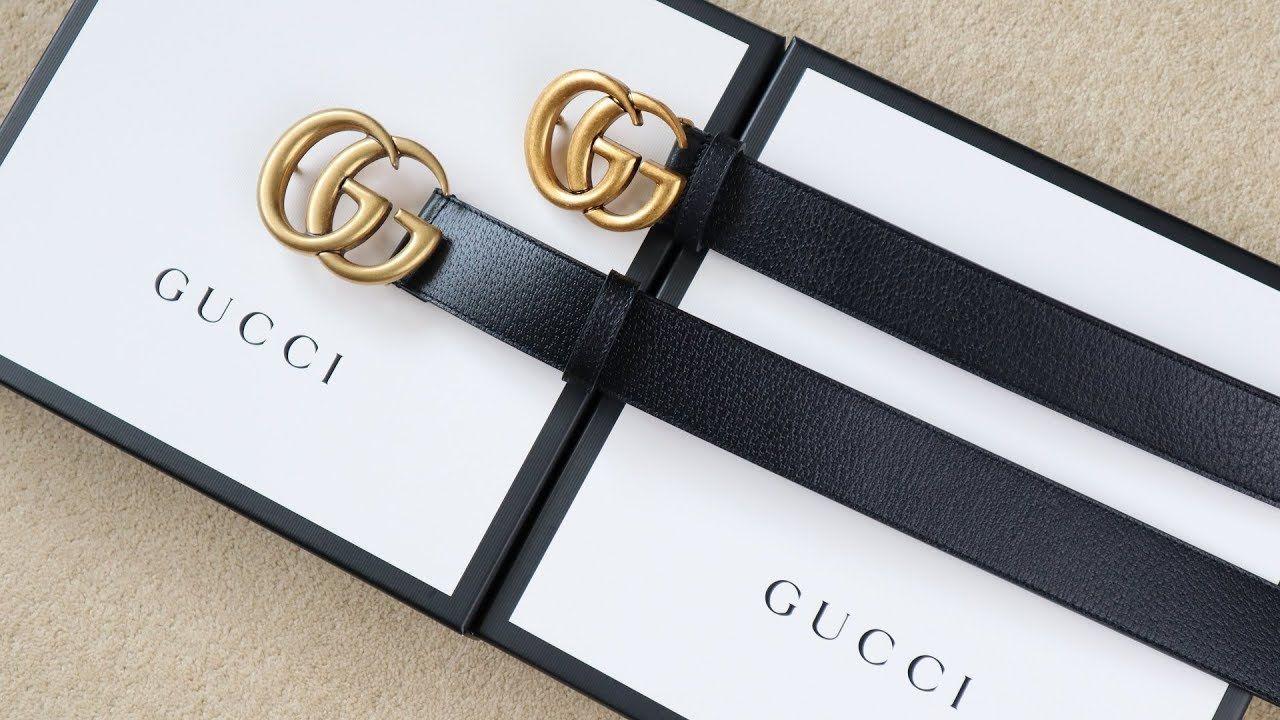 Real Vs Replica Gucci How To Spot A Fake Gucci Belt Gucci Belt Gucci Marmont Belt Gucci Leather Belt