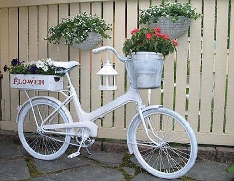 63 Built In Outdoor Planter Ideas And Diy Projects Bike 400 x 300