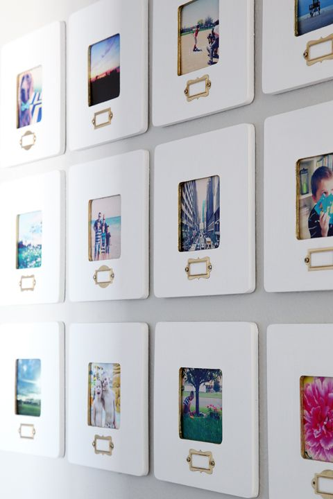 20A Little Glitz $1 square unfinished wooden frames from Michaels to ...