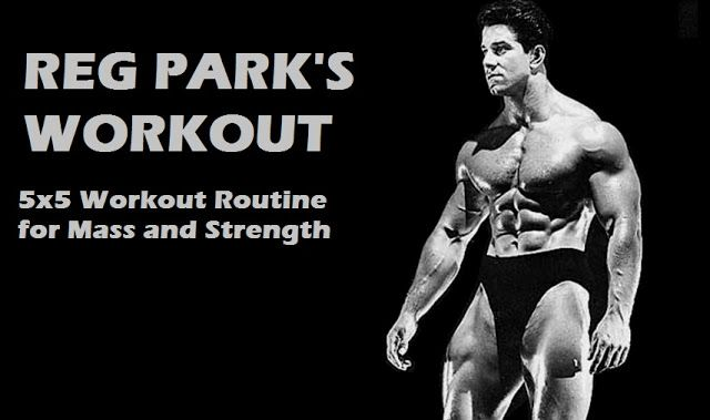 Muscle Palace: Reg Park's 5x5 Workout Program for Muscle