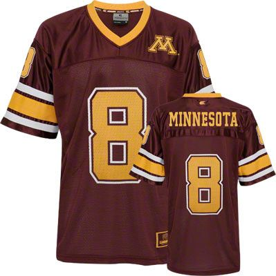 Minnesota Golden Gophers Stadium Football Jersey #minnesota #gophers #goldengophers