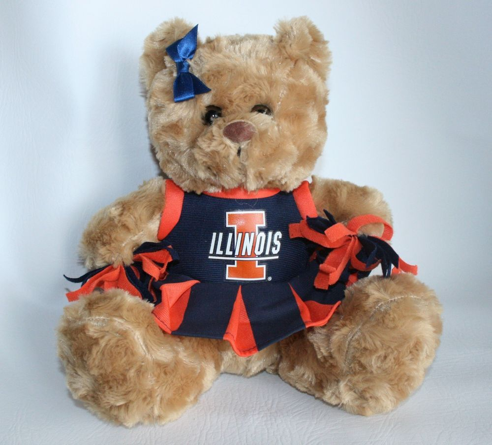 University of Illinois Fighting Illini Plush Stuffed Teddy