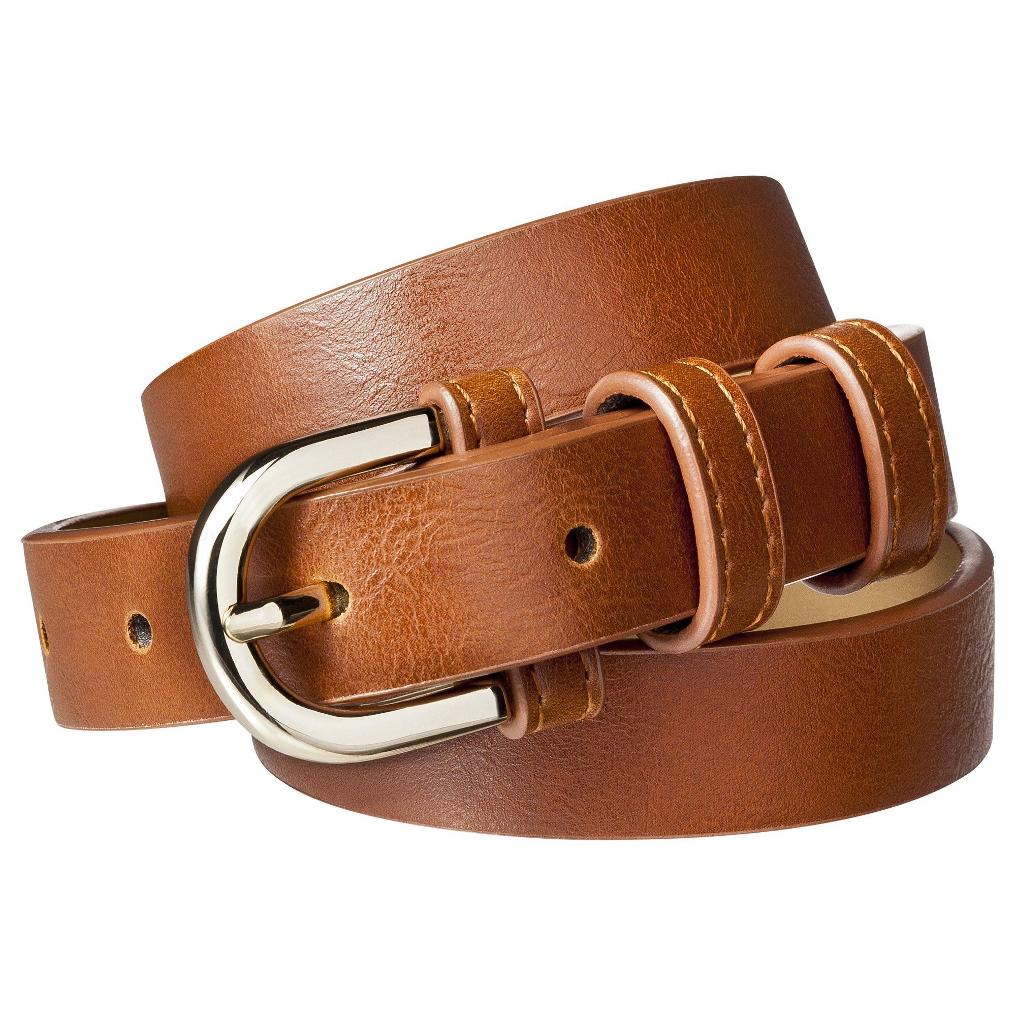 5e4e83b10368 Modern Dress Belt - A New Day Brown M