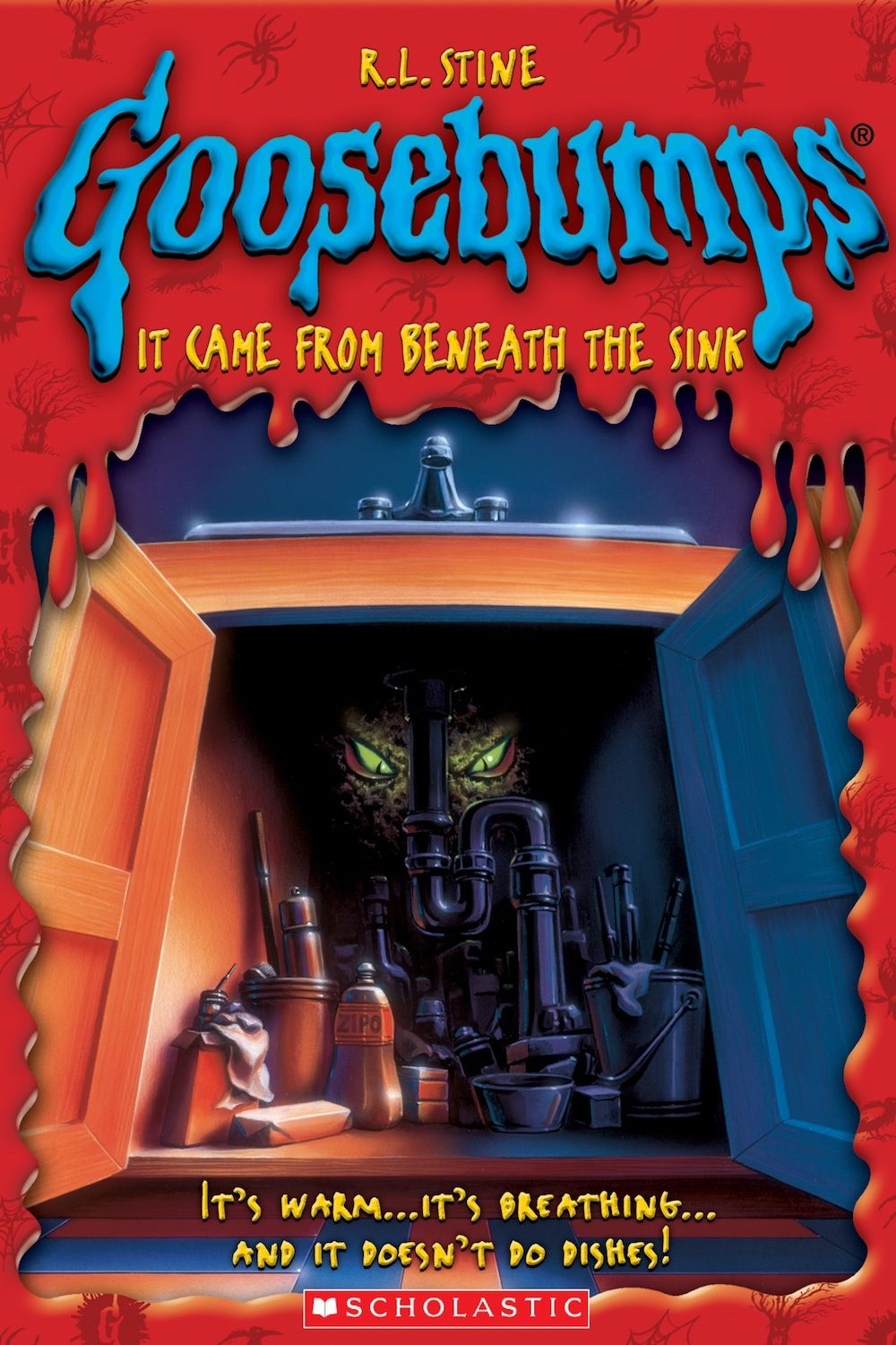 It came from beneath the sink book 30 by r l stine