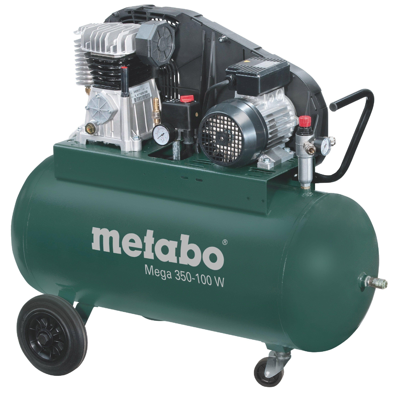 Compresseur De Chantier Metabo 90 L 3 Cv Mega 350 100 W Chantier