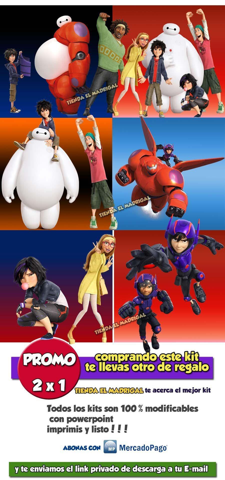 disfraces 6 grandes heroes