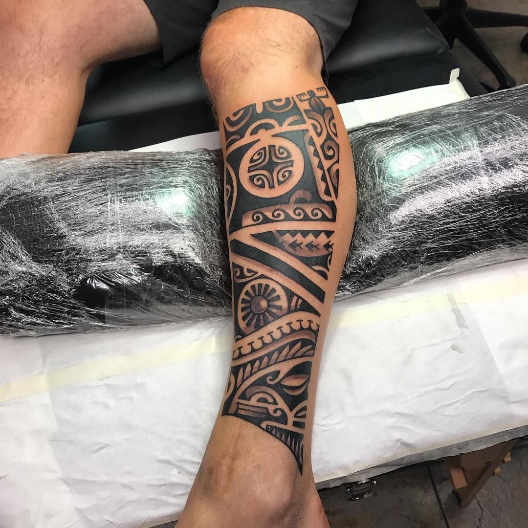 55 Best Maori Tattoo Designs Meanings: Maori Tattoo 55 #maoritattoosbrazo