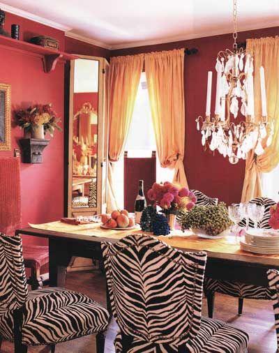 Zebra Dining Chair  Kiss My Zebra  Pinterest  Dining Chairs Enchanting Zebra Dining Room Chairs Inspiration Design