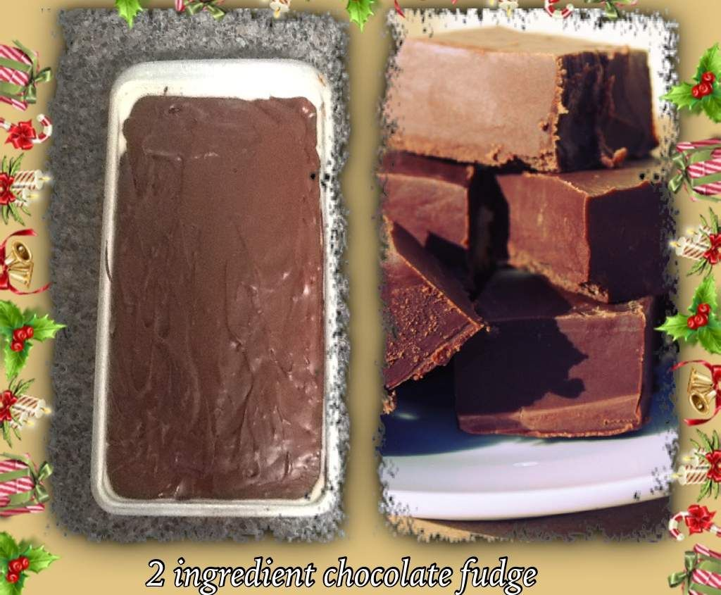 Recipe 2 ingredient chocolate fudge by monicaih - Recipe of