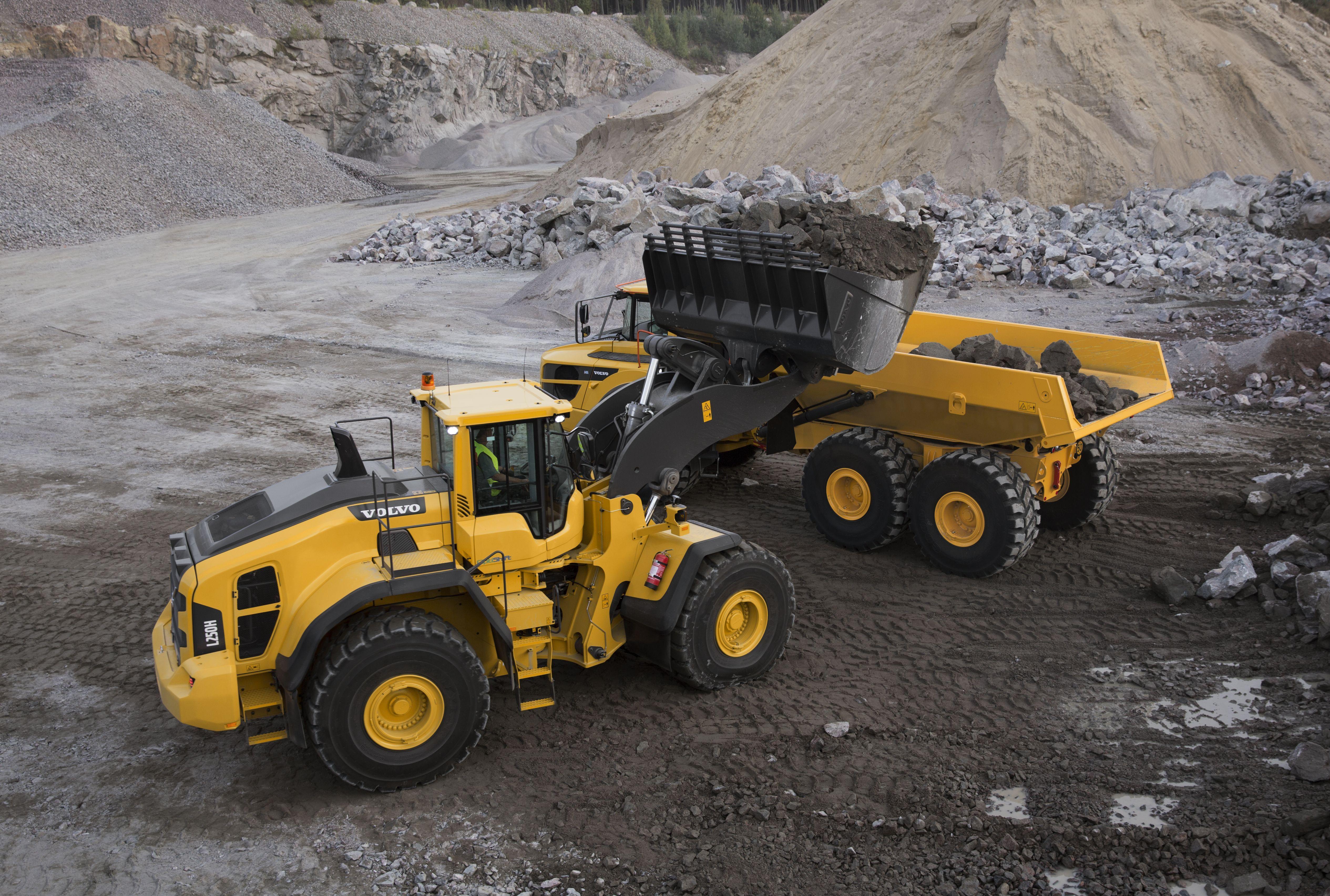 Volvo l250h wheel loader