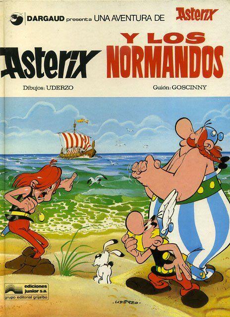 Asterix Y Los Normandos En Castellano Asterix Y Obelix Portada De Historieta Historietas