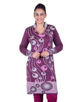 6b4ab82434 Net Shopping · Woolen Ladies Kurti Computer design Indian Ladies Dress,  Ladies Dresses, Kurtis, Fashion Online