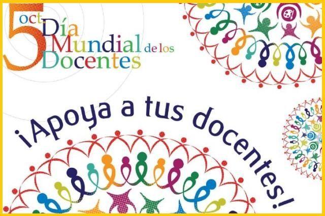 Hoy es el Día Mundial de los Docentes! Gracias Docentes!!! (no os perdáis el vídeo).  http://www.racoinfantil.com/curiosidades/d%C3%ADa-docentes/