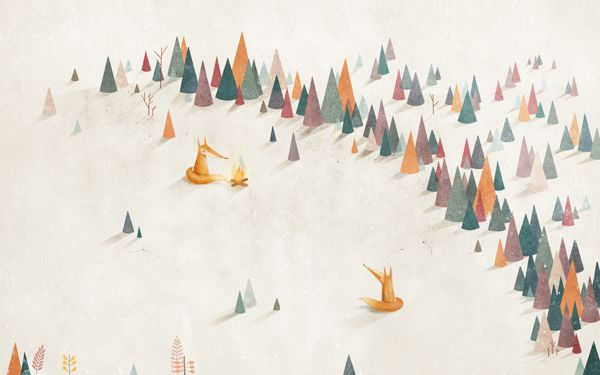 Share the Warmth by Arnelle Woker, via Behance