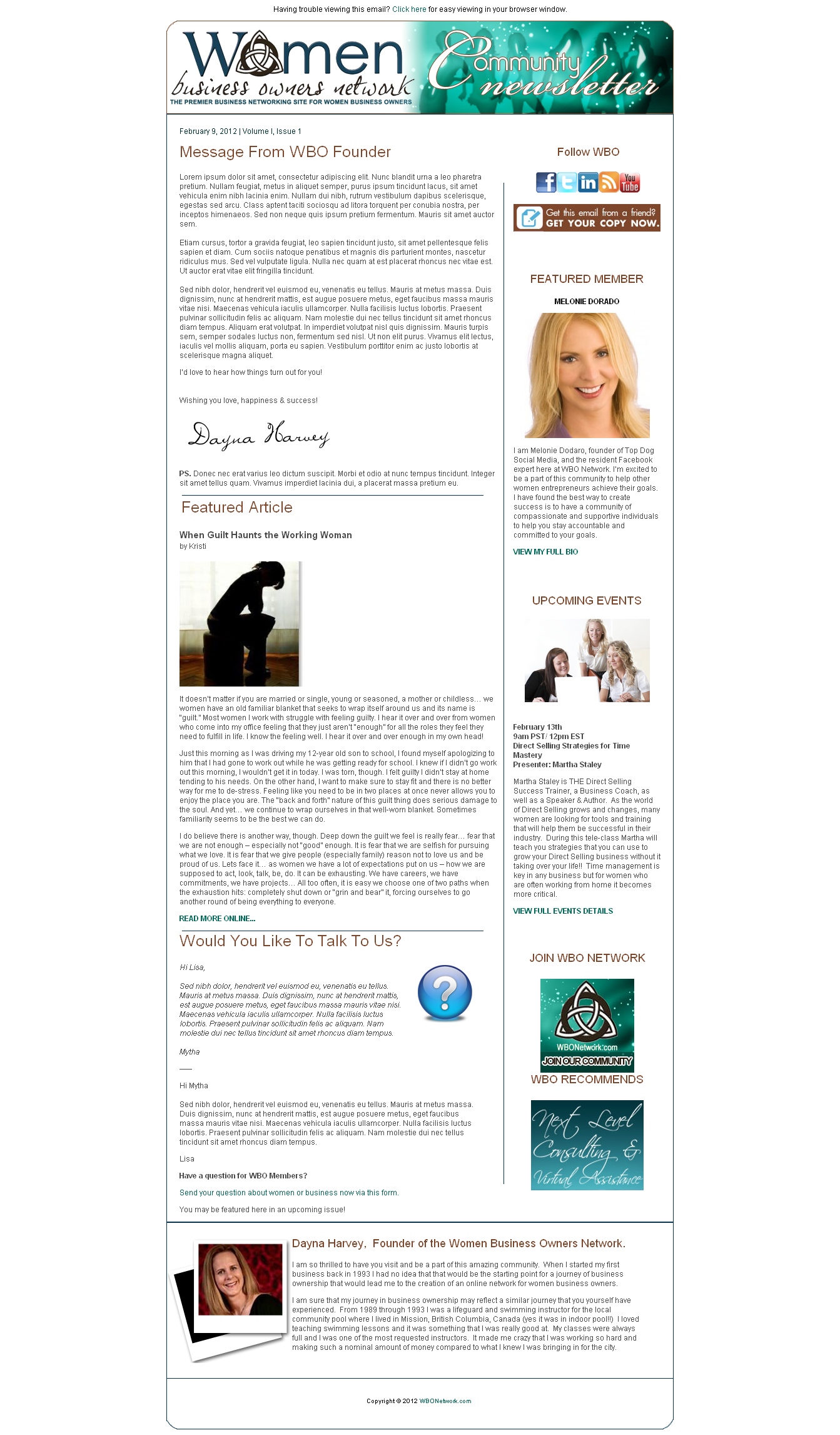 Custom Newsletter Template For SC My Portfolio Pinterest - Custom newsletter template