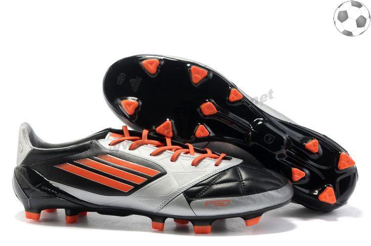 adidas f50 adizero miCoach Cuir FG Argent Noir FT7607