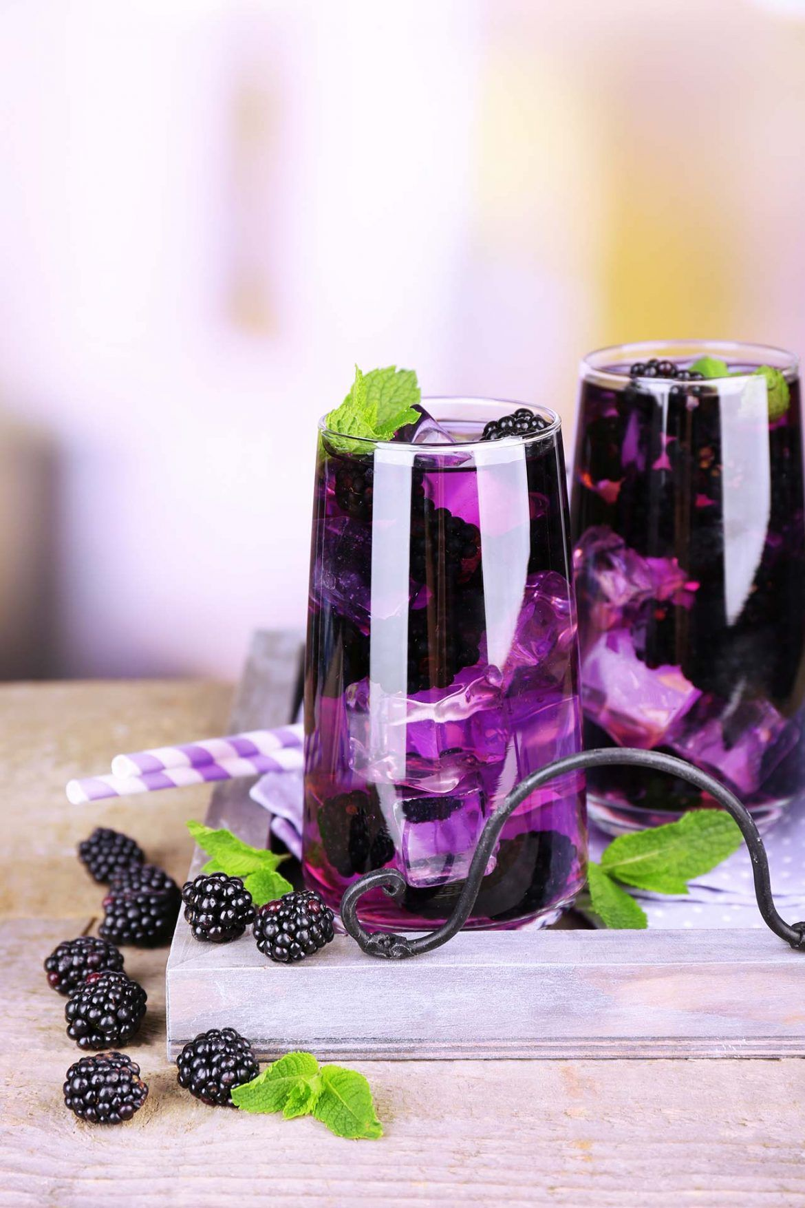 Photo of Make refreshing blackberry and lime lemonade yourself – WOMZ
