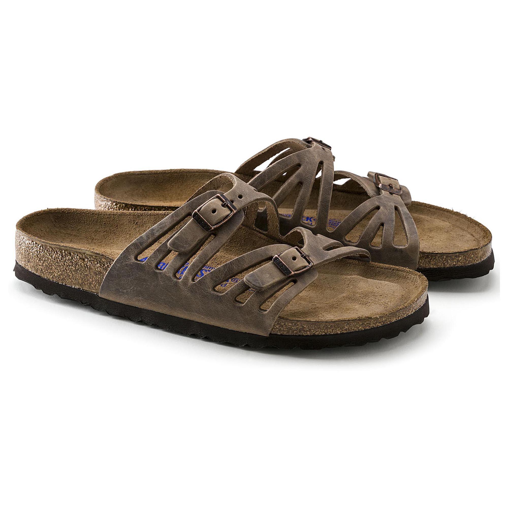 02251b48eb84b Granada Soft Footbed Tobacco Oiled Leather