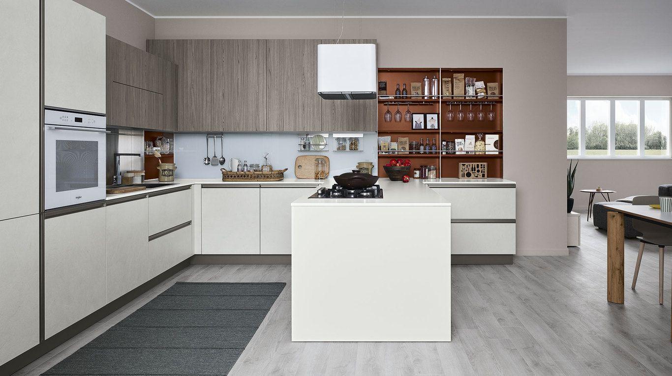 Cocina Start-Time Presa Quick Design | Veneta Cucine ...